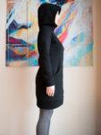 Суитчър-рокля  с качулка SPACE-Copy
