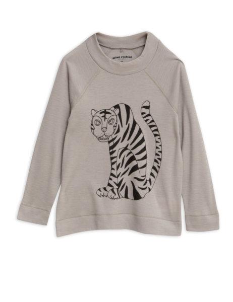 """Mini Rodini Тениска с дълъг ръкав """"Tiger"""""""
