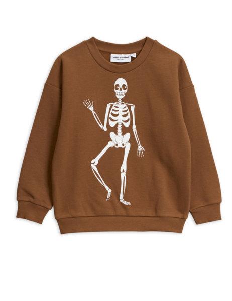 "Mini Rodini Суитшърт ""Skeleton"""