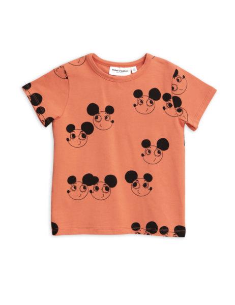 """Mini Rodini Тениска с къс ръкав """"Ritzratz"""""""