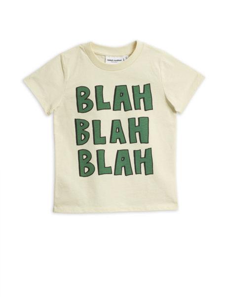 "Mini Rodini Тениска с къс ръкав ""Blah"""