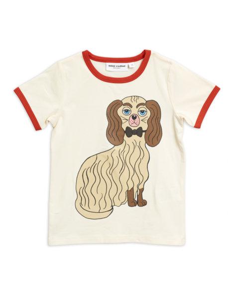 "Mini Rodini Тениска с принт ""Dashing dog"""