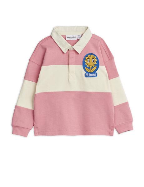 Mini Rodini Розова Ръгби Риза