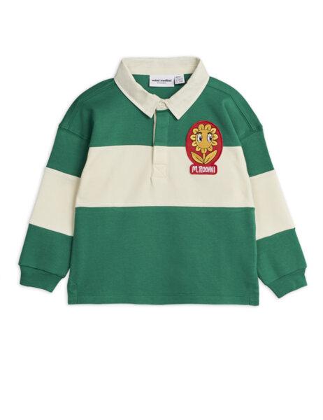 Mini Rodini Зелена Ръгби Риза