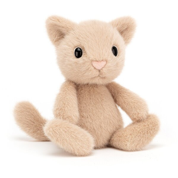Jellycat Пухено Коте