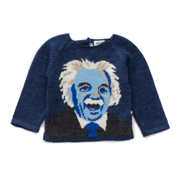 "Oeuf NYC Пуловер с ръкави тип реглан ""Einstein"""