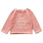"""Пуловер с ръкави тип реглан """"Sisters"""""""