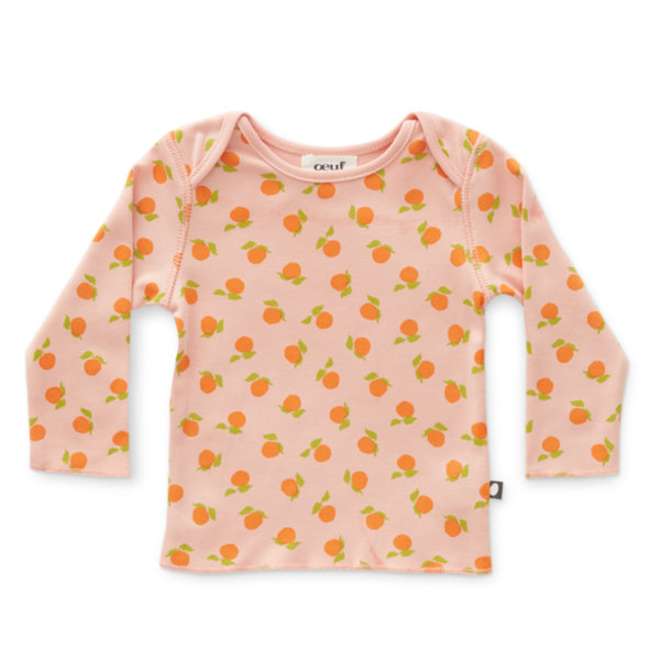 Oeuf NYC Блуза с щампа на мандарини