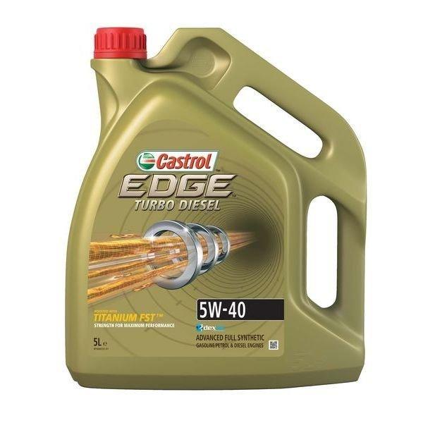 CASTROL EDGE TURBO DIESEL 5W40 5l