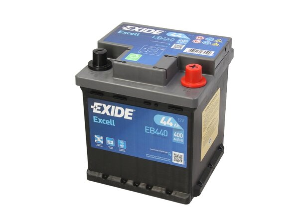 EXIDE 44AH 400A EXCELL R+