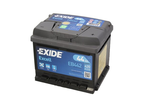 EXIDE 44AH 420A EXCELL R+