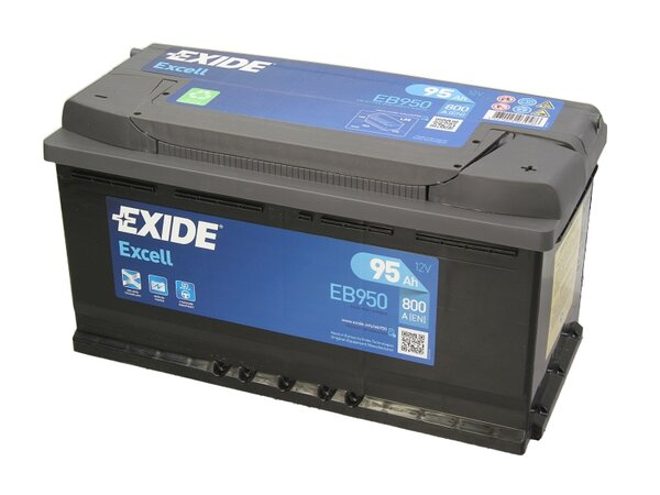 EXIDE 95AH 800A EXCELL R+