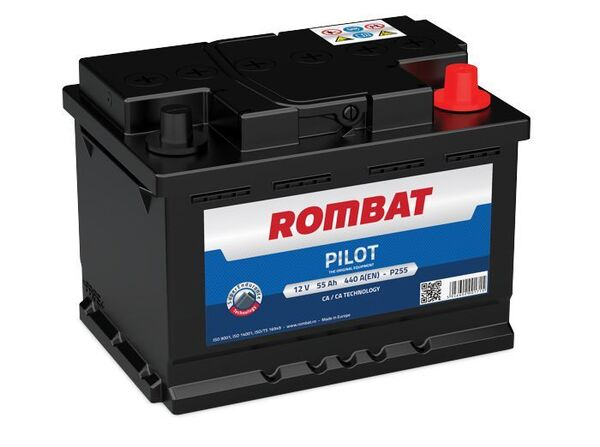 ROMBAT 55AH 450A R+