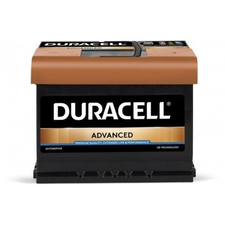 DURACELL 60AH 540A ADVANCED R+