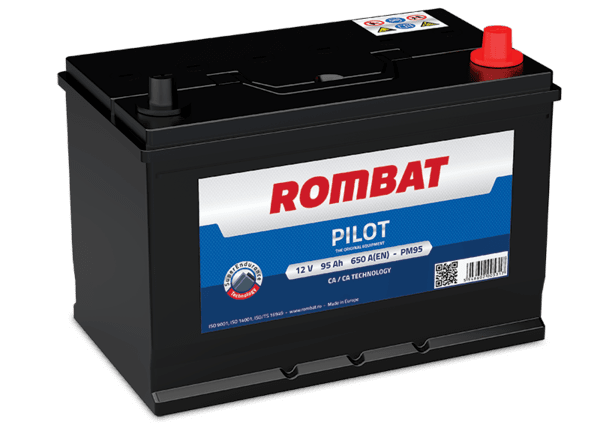 ROMBAT 95AH 650A R+