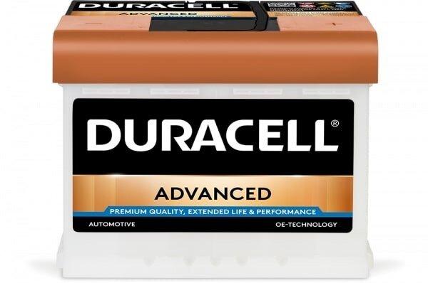 DURACELL 63AH 600A ADVANCED R+