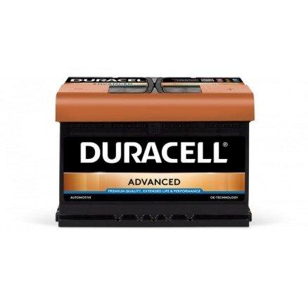 DURACELL 74AH 680A ADVANCED R+