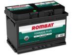 ROMBAT 75AH 700A TORNADA PLUS R+