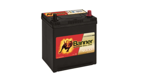 BANNER 38AH 400A RUNNING BULL EFB R+