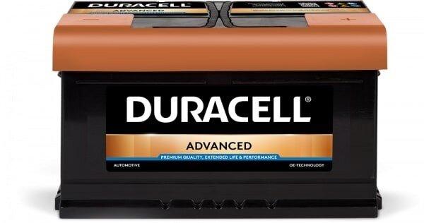 DURACELL 80AH 700A ADVANCED R+
