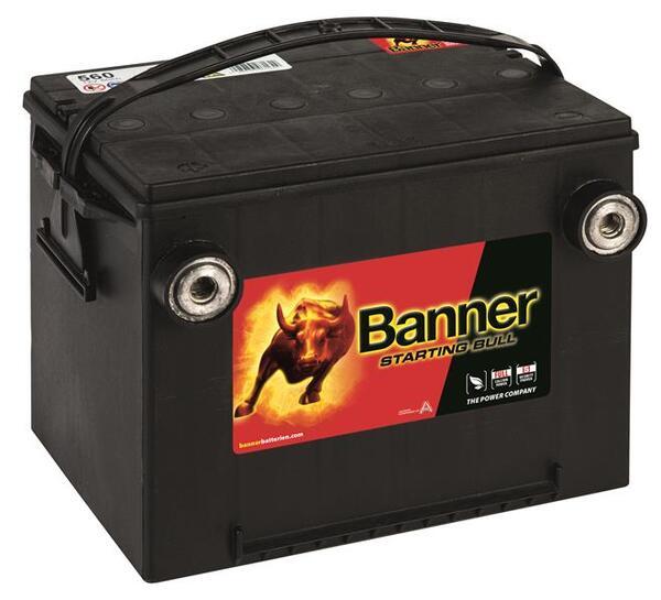 BANNER 60AH 675A STARTING BULL L+