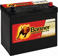 BANNER 55AH 460A RUNNING BULL EFB R+