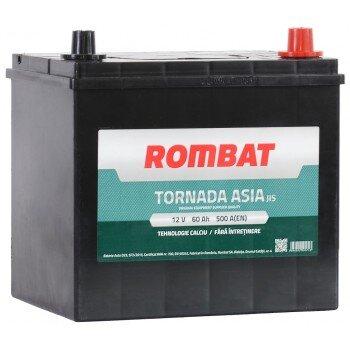 ROMBAT 60AH 500A TORNADA ASIA R+