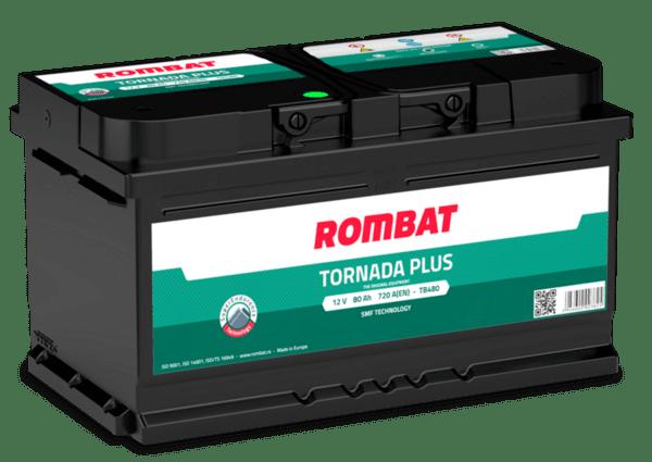 ROMBAT 80AH 720A TORNADA PLUS R+