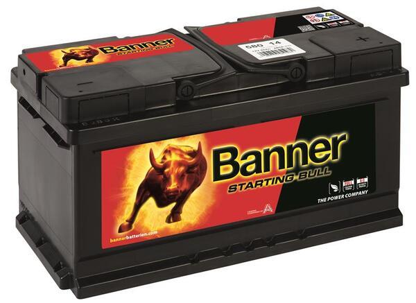BANNER 80AH 660A STARTING BULL R+
