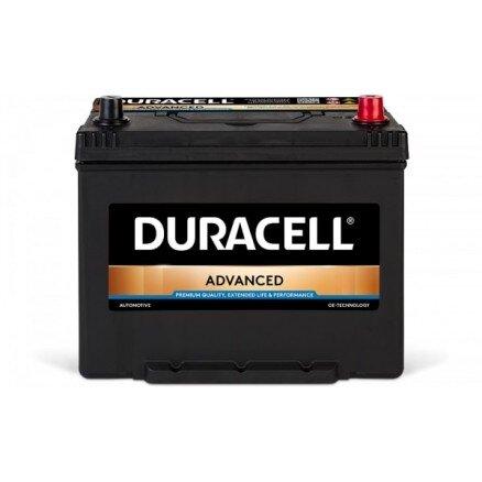 DURACELL 70AH 600A ADVANCED JIS R+