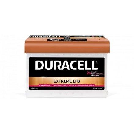 DURACELL 70AH 660A EXTREME EFB R+