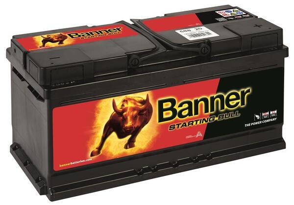 BANNER 88AH 680A STARTING BULL R+