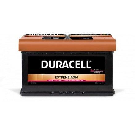DURACELL 80AH 800A EXTREME AGM R+