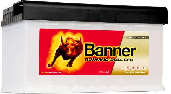 BANNER 80AH 780A RUNNING BULL EFB R+