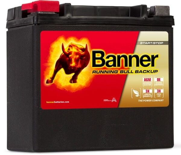 BANNER 12AH 200A RUNNING BULL BACKUP L+