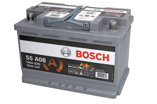 BOSCH 70AH 760A SILVER S5 R+