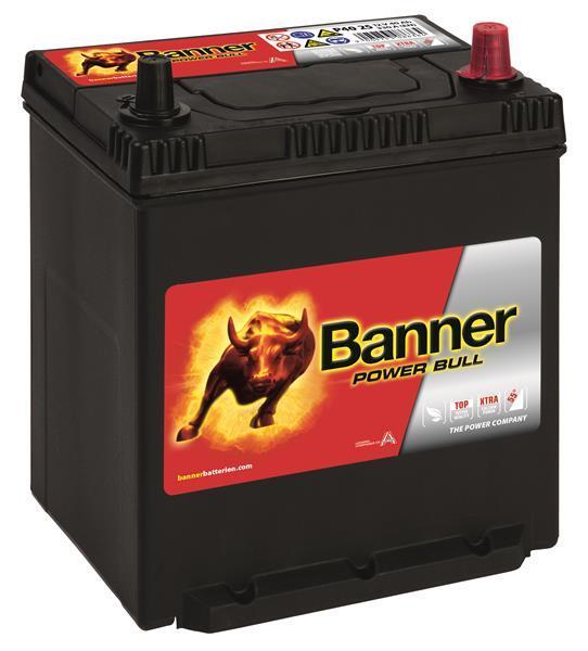 BANNER 40AH 330A POWER BULL R+