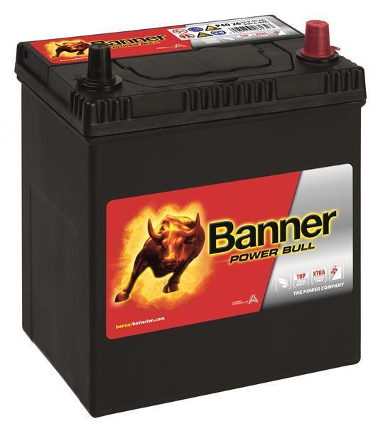 BANNER 40AH 330A POWER BULL R+2