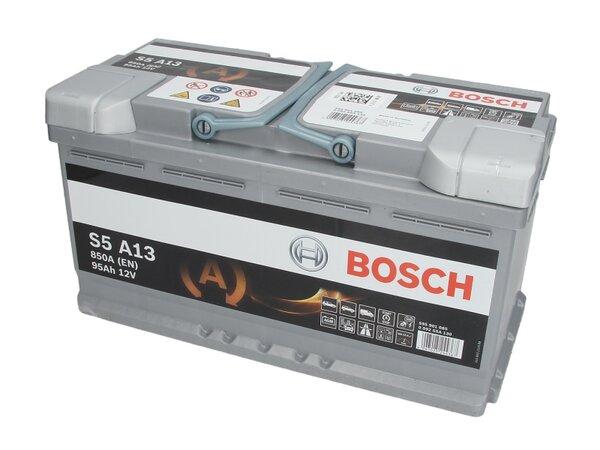 BOSCH 95AH 850A SILVER S5 R+