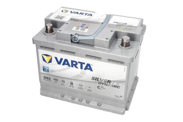 VARTA 60AH 680A SILVER DYNAMIC AGM R+