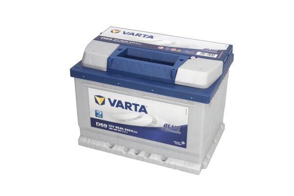 VARTA 60AH 540A BLUE DYNAMIC R+3