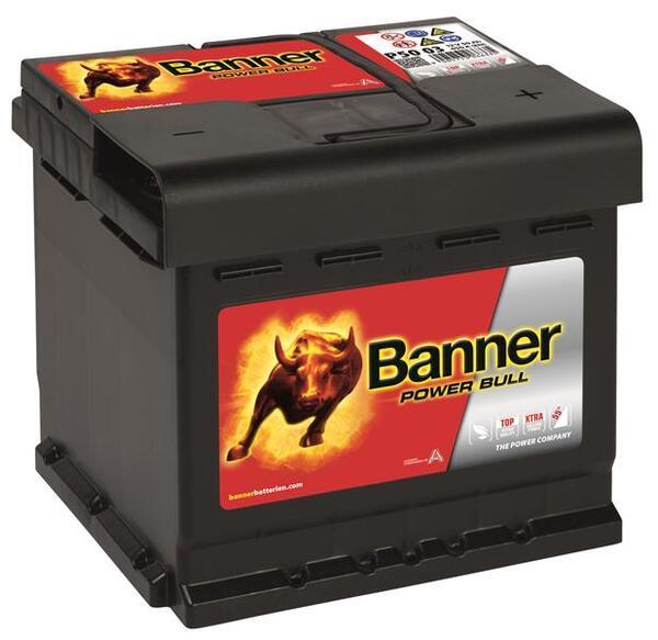 BANNER 50AH 450A POWER BULL R+