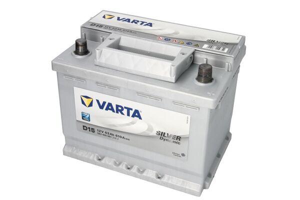 VARTA 63AH 610A SILVER DYNAMIC R+
