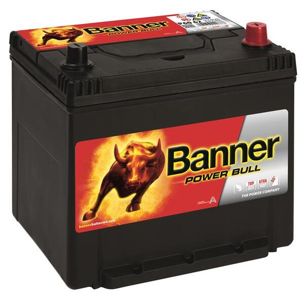 BANNER 60AH 510A POWER BULL R+