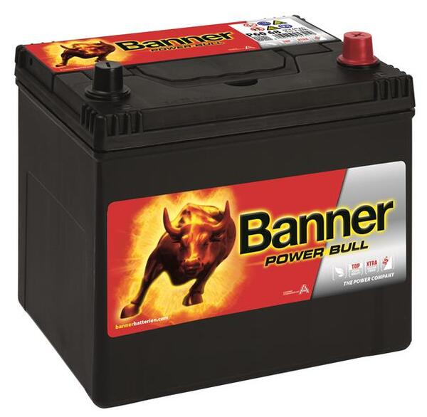 BANNER 60AH 510A POWER BULL R+2