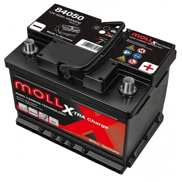 MOLL 50AH 450A X-TRACHARGE R+