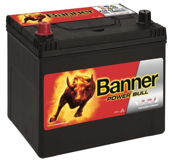 BANNER 60AH 510A POWER BULL L+