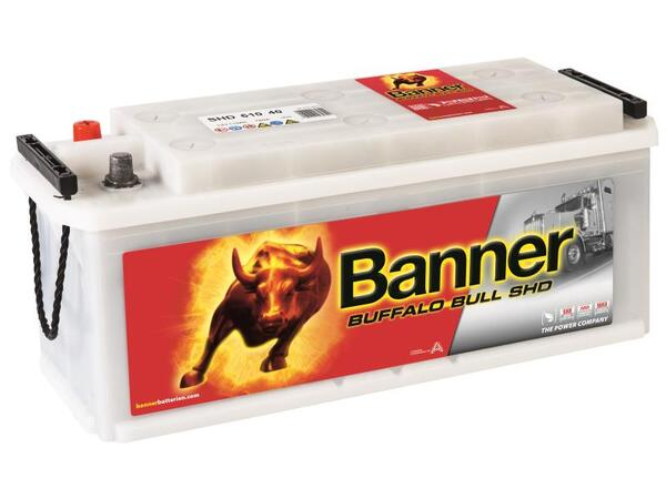 BANNER 110AH 760A BUFFALO BULL SHD L+