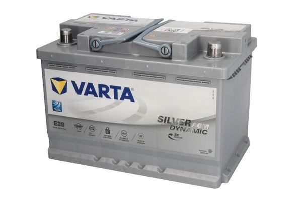 VARTA 70AH 760A SILVER DYNAMIC AGM R+