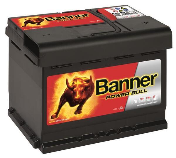 BANNER 60AH 540A POWER BULL R+